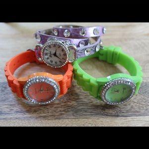 Fashion watches   bundle of three